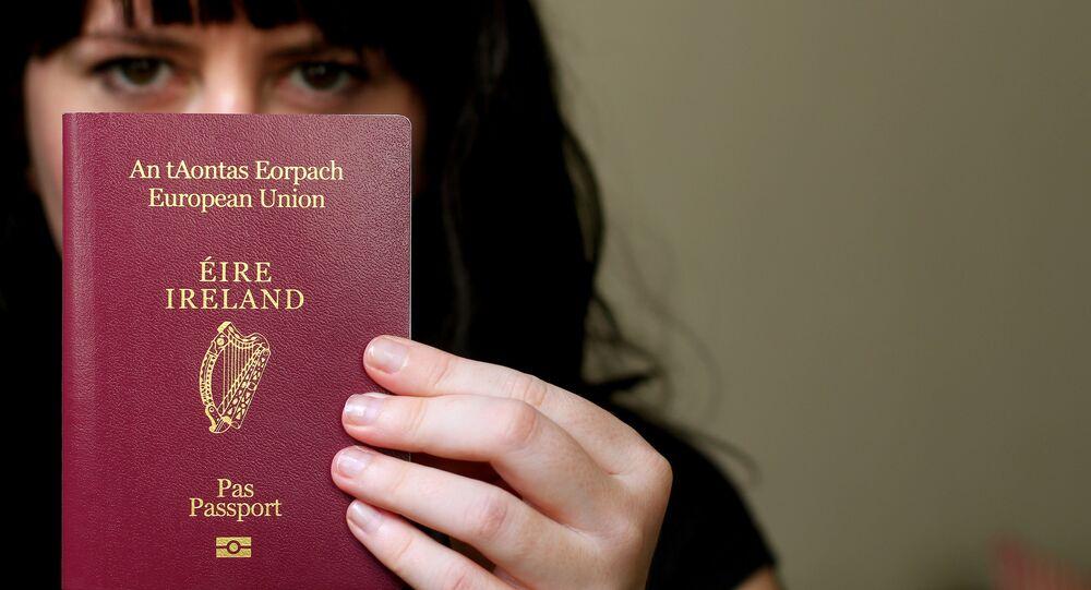 des passeports irlandais