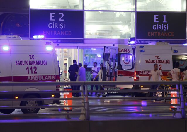 L'explosion à l'aéroport d'Istanbul