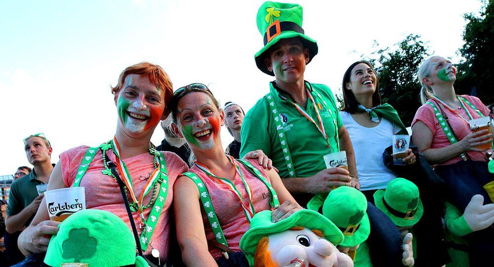 Fans irlandais