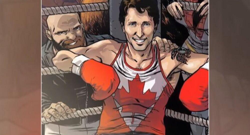 Justin Trudeau, ce nouveau super-héros de Marvel