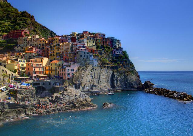 Des falaises en Italie