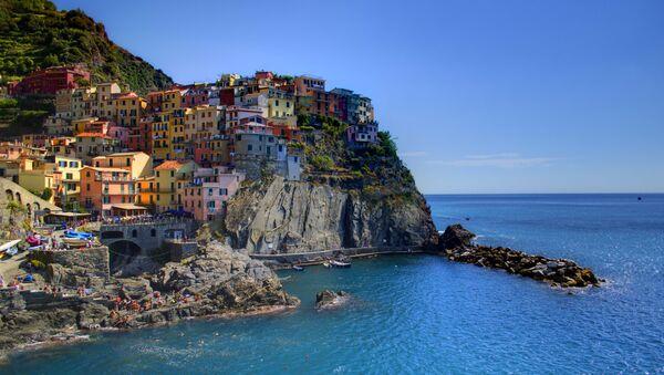 Des falaises en Italie - Sputnik France