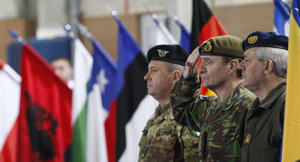 Force de l'Union européenne (EUFOR). Archive photo