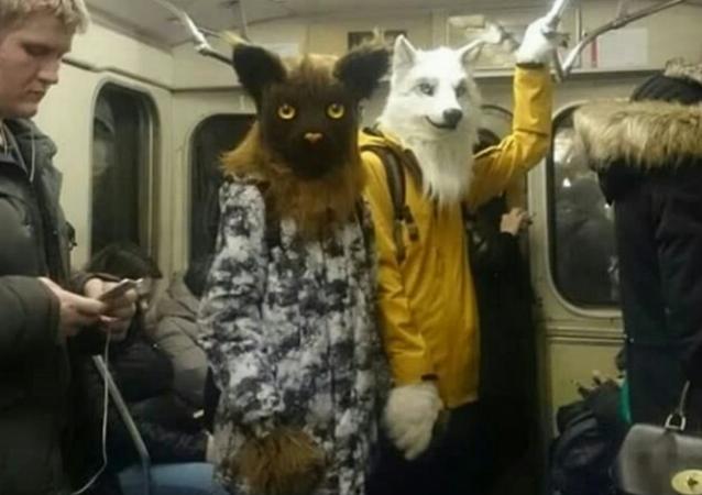 N'ayez pas peur! Ce n'est que le métro moscovite...