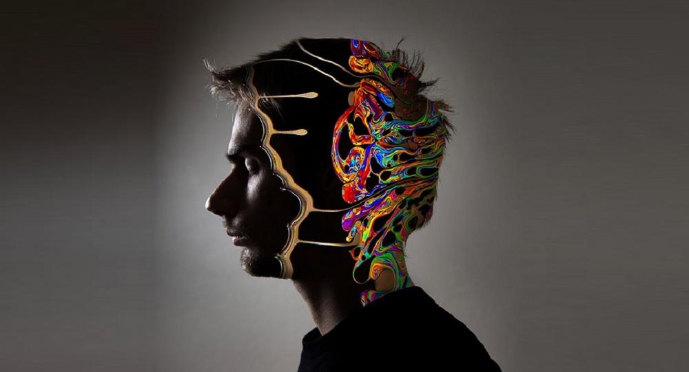 Un cerveau humain. Image d'illustration