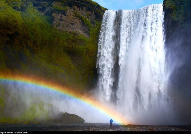 Une chute d'eau (image d'illustration)