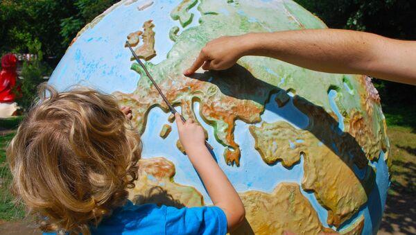 Un globe terrestre - Sputnik France