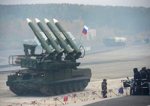 Système de missiles sol-air Buk-M-1