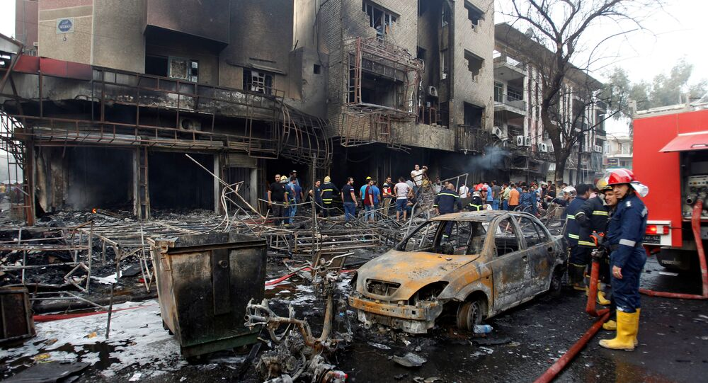 Attentat de Bagdad à voiture piégée, le 3 juillet