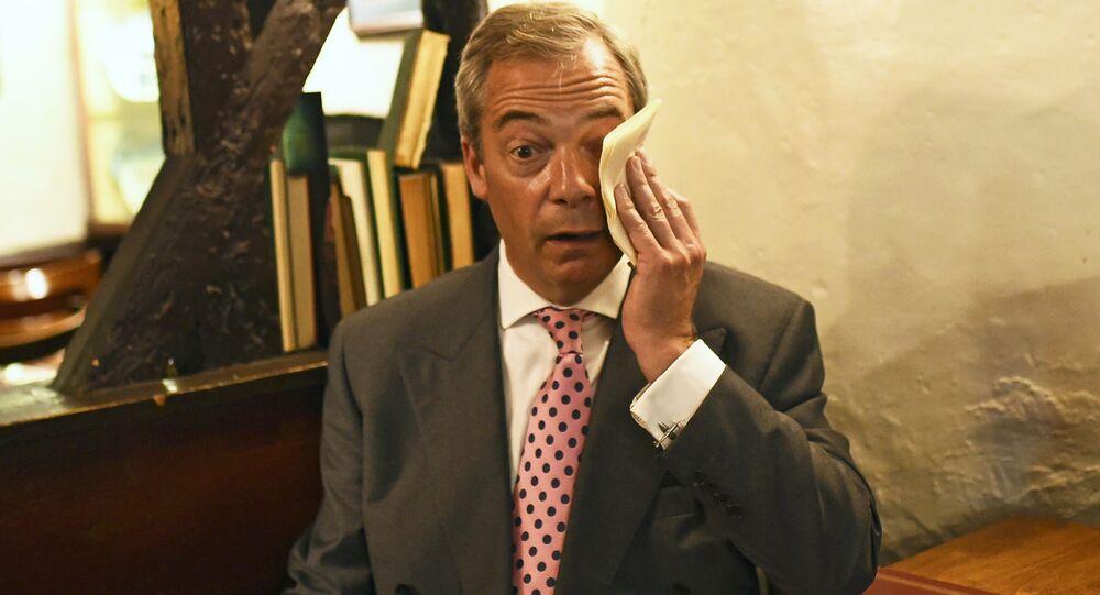 Mission accomplie: Mister Brexit s'en lave les mains