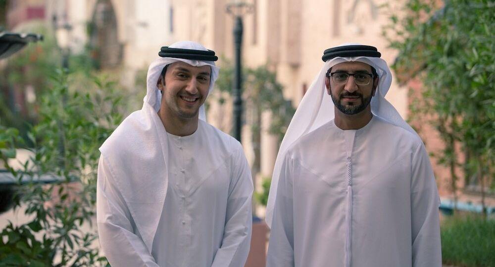 Hommes saoudiens dans les vêtements traditionnels. Image d'illustration