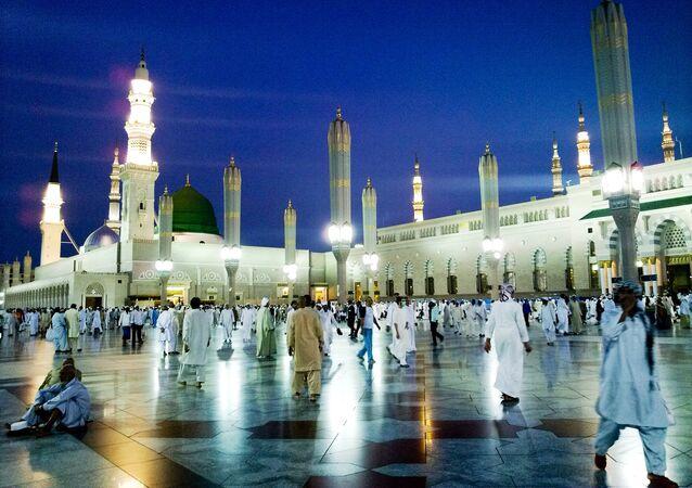 Mosquée du Prophète, à Médine en Arabie saoudite