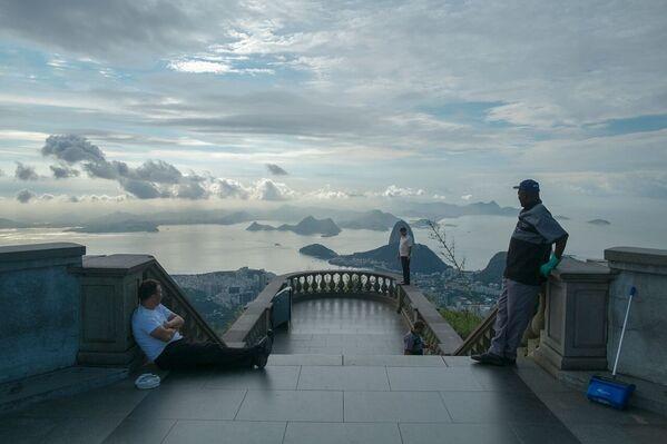 Christ Rédempteur, Rio de Janeiro, Brésil - Sputnik France