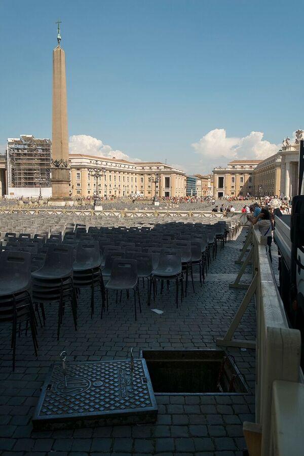 Place Saint-Pierre, Rome, Italie - Sputnik France