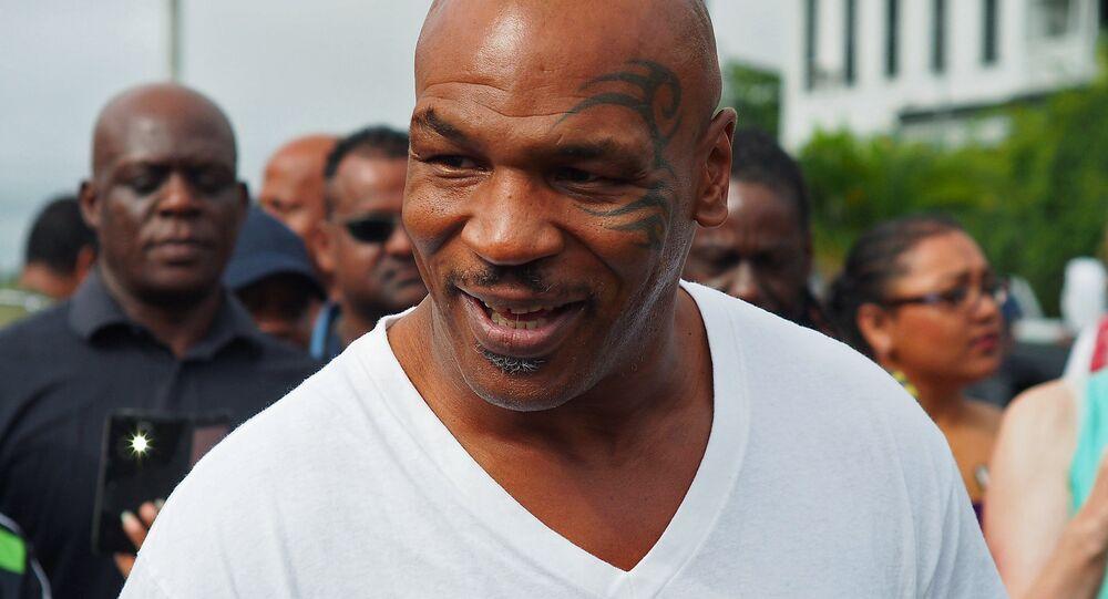 L'ancien boxeur américain Mike Tyson