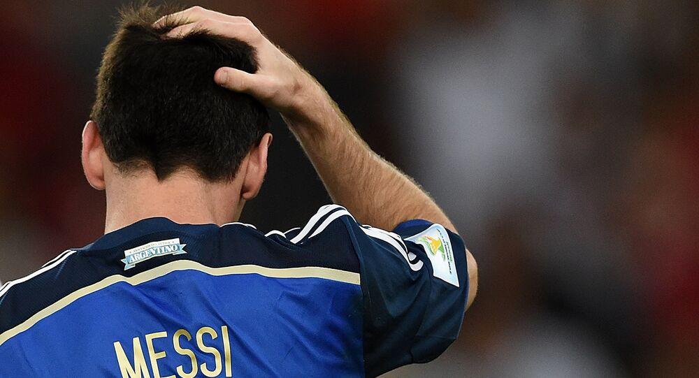 Lionel Messi. Archive photo