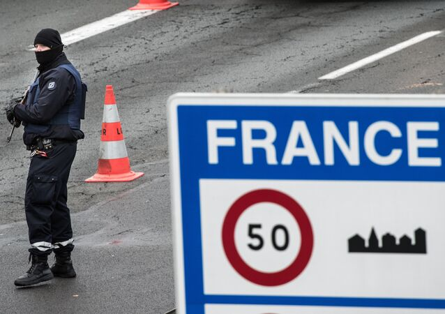 La frontière française