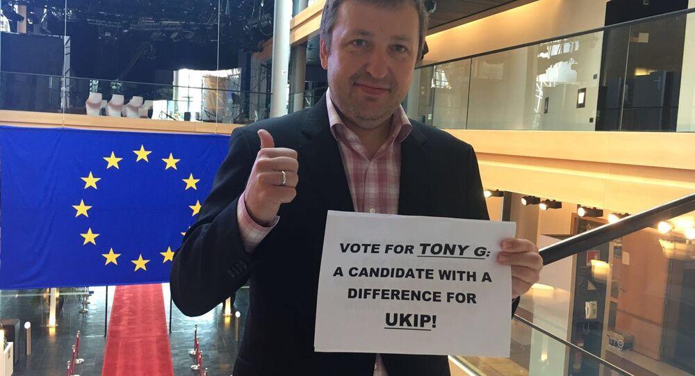 Une star du poker présente sa candidature au poste de leader de UKIP