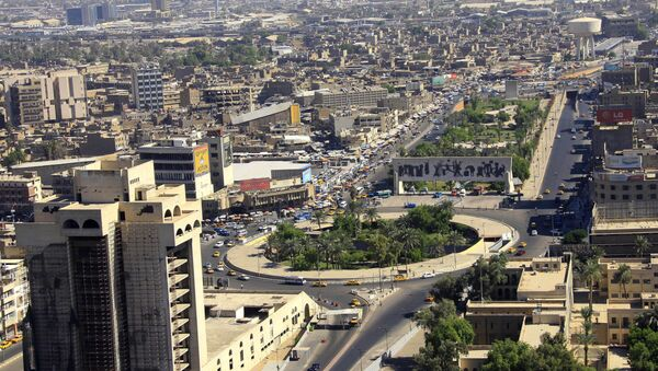 An aerial view of Tahrir Square in downtown Baghdad, Iraq - Sputnik France