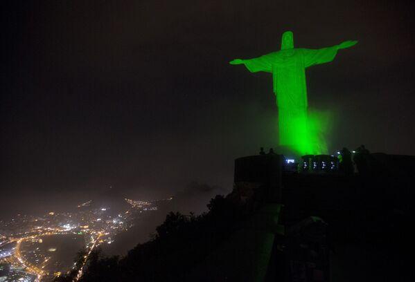 La statue du Christ Rédempteur à Rio, au Brésil. - Sputnik France