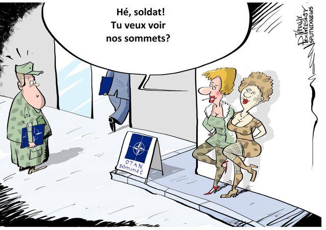 Varsovie se mobilise en vue du sommet de l'Otan, mais sexuellement