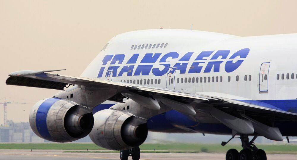 Un avion de Transaero