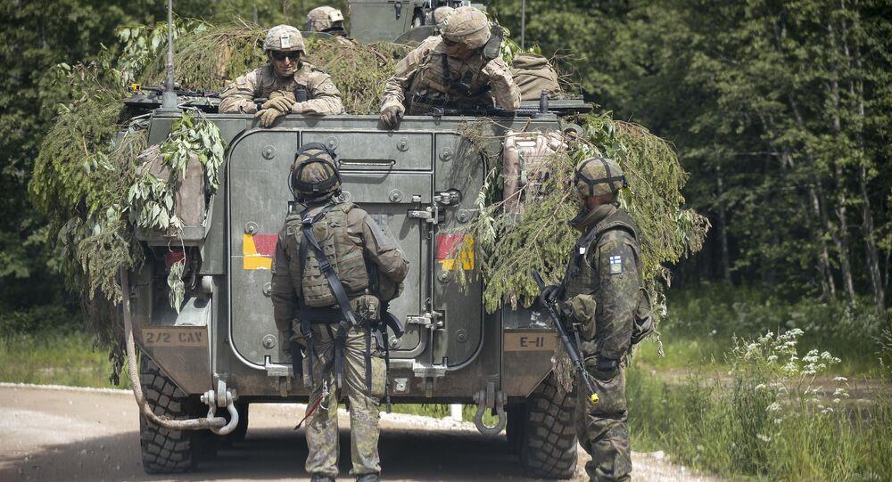 Militaires de l'Otan en Lituanie