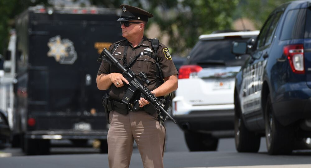 Agent des forces de l'ordre au Michigan