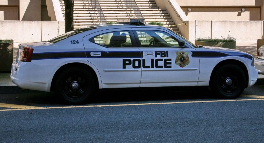 Voiture du FBI. Image d'illustration