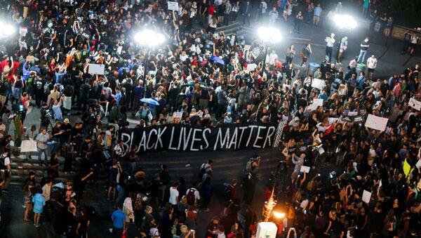 manifestation contre les violences policières à New-York - Sputnik France