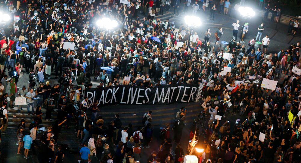 Black Lives Matter: manifestation contre les violences policières à New York