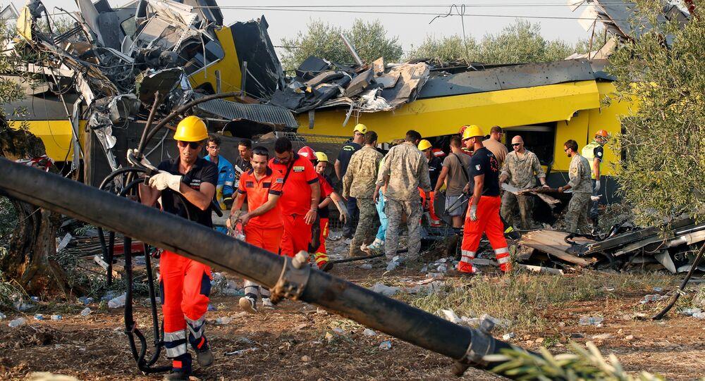 La collision de trans en Italie