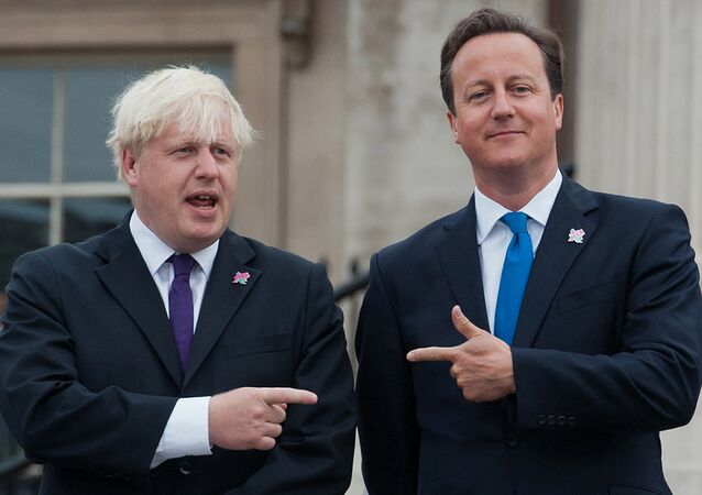 David Cameron et Boris Johnson