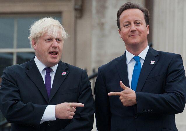 David Cameron et Boris Johnson