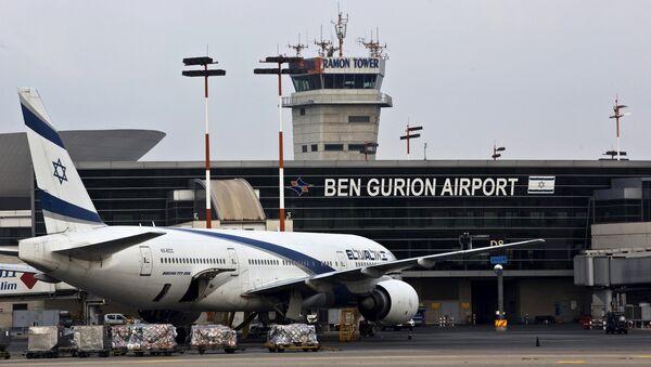 FIle photo of an EL AL Boeing 777 aircraft at Ben Gurion International Airport near Tel Aviv, Israel (File) - Sputnik France