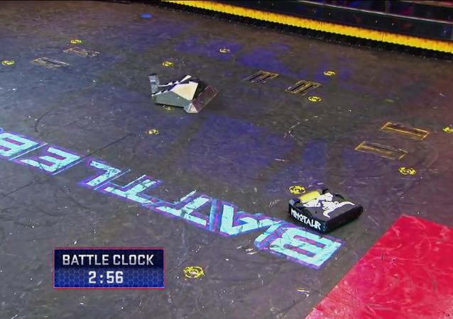 Un combat de robots incroyable
