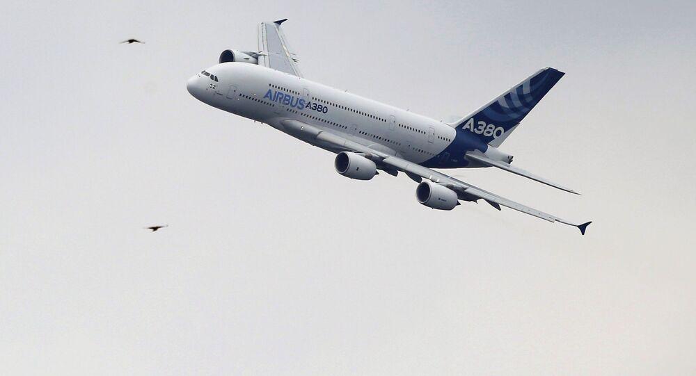 Un Airbus A380 (image d'illustration)