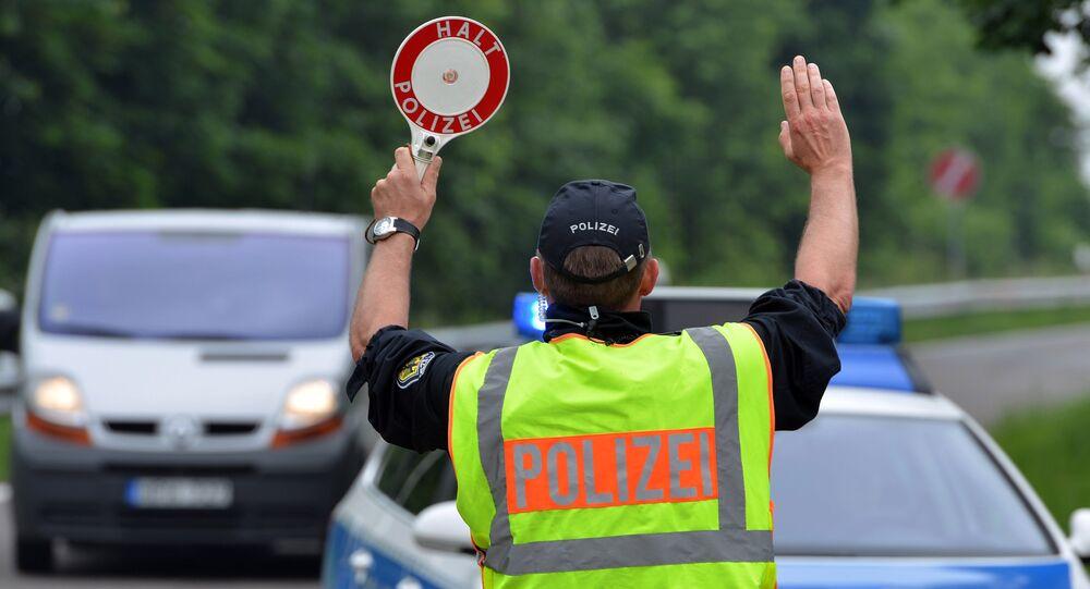 La police fédérale allemande a renforcé ses contrôles à la frontière française