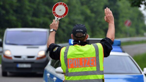 La police fédérale allemande a renforcé ses contrôles à la frontière française - Sputnik France