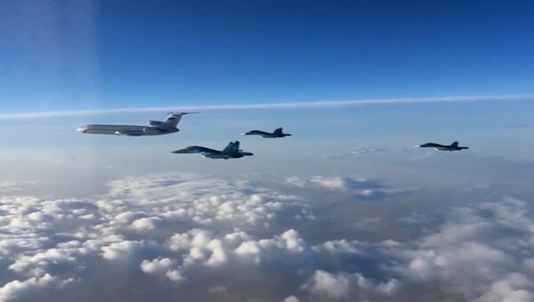 Des avions russes en Syrie - Sputnik France