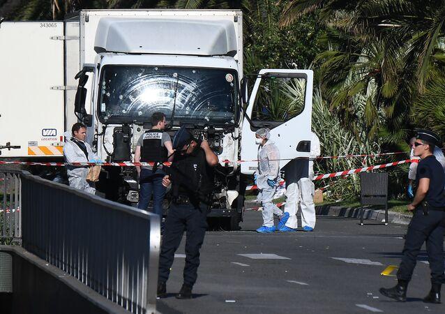 le camion à Nice