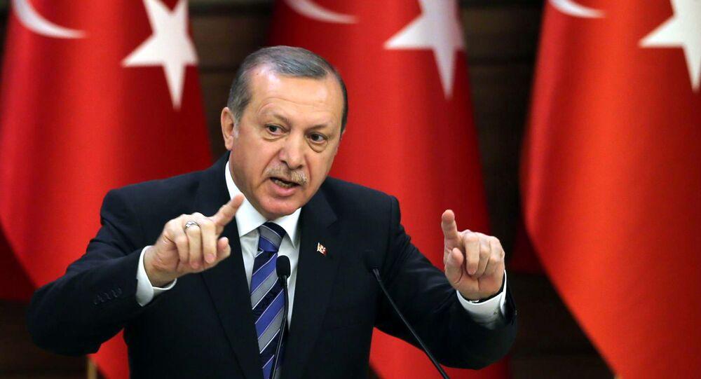 Le président turc Tayyip Erdogan