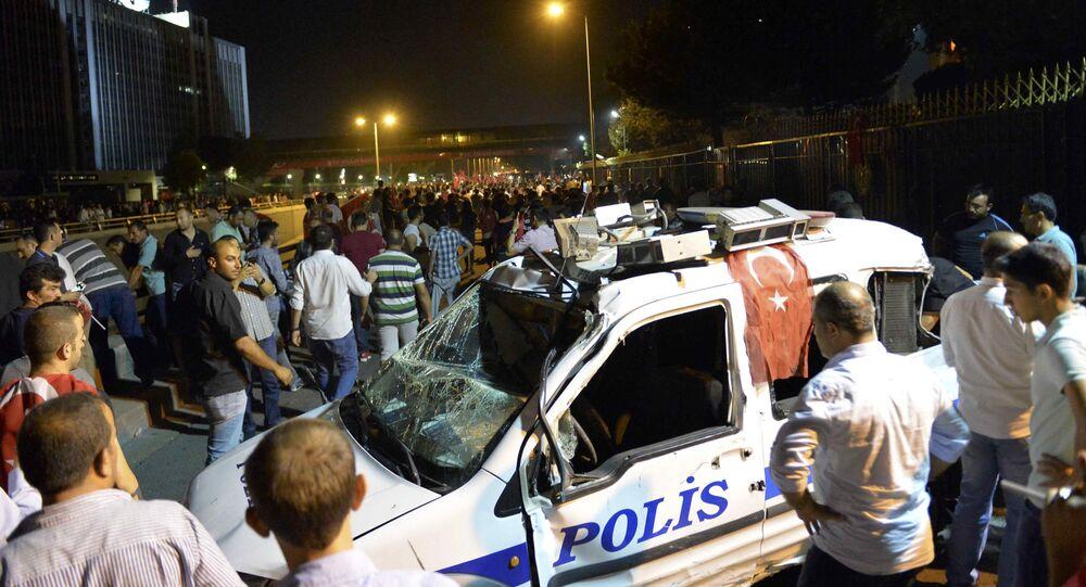 Ankara au lendemain de la tentative de putsch (16 juillet 2016)
