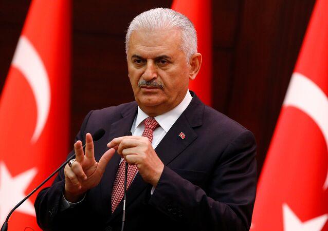 Le premier ministre turc Binali Yildirim