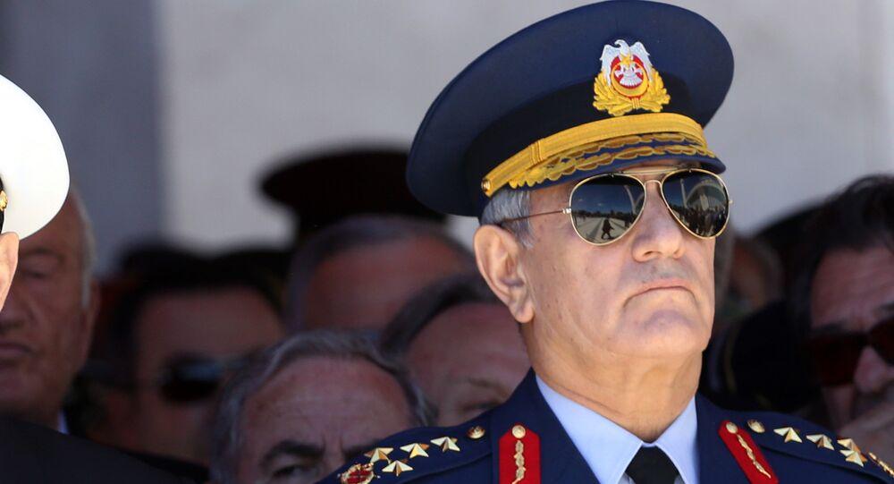 Akın Öztürk, ex-commandant de l'Armée de l'air turque. Archive photo
