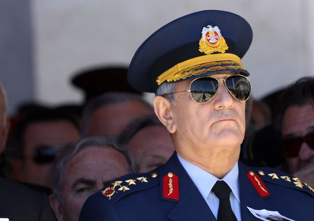Akın Öztürk, ex-commandant de l'Armée de l'air turque. Archive photo