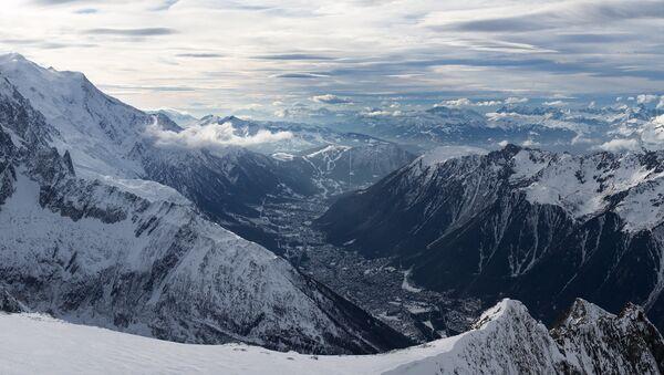 Chamonix, Mont Blanc and Aiguille du Midi - Sputnik France