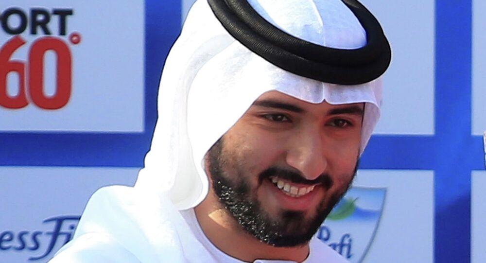Le prince héritier de Dubaï Hamdan ben Mohammed Al Maktoum