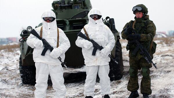 Soldats russes - Sputnik France