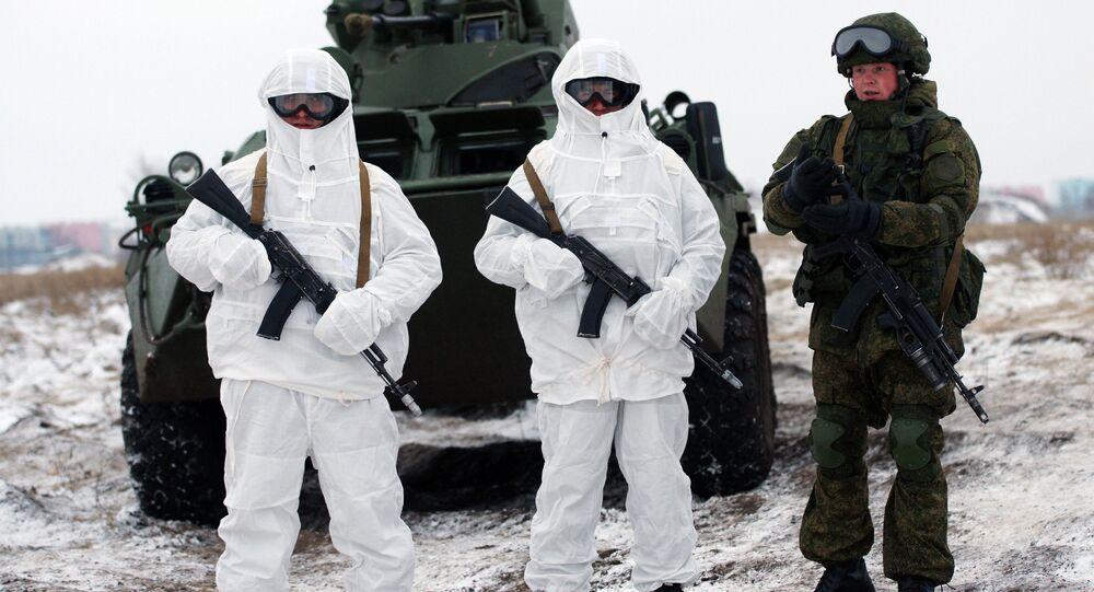 Soldats russes équipés du système Ratnik